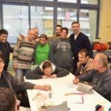Ο Γιώργος Καπουτζίδης επισκέφθηκε τον Σύνδεσμο Προστασίας Παιδιών και ΑΜΕΑ