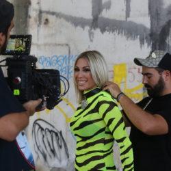Στα backstage του νέου video clip της Μαρίας Καρλάκη