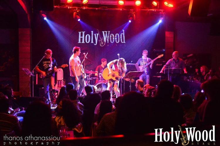 Μάνος Αγγελάκης & Κυλιόμενη Λήθη fullband live στο HolyWood Stage