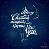 Τάσος Σκούρας: Merry Christmas Everybody and a Happy New Year