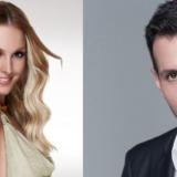 Η Τάμτα και ο Δημήτρης Μπάσης στον Ημιτελικό του X Factor