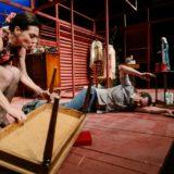 Τριαντάφυλλο στο στήθος του Τενεσί Ουίλιαμς στο Υπόγειο του Θεάτρου Τέχνης Καρόλου Κουν