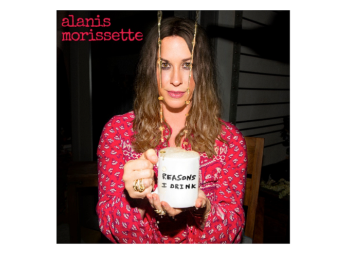 H Alanis Morissette κυκλοφορεί νέο τραγούδι με τίτλο Reasons I Drink!