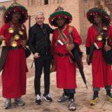 Εικόνες: Ταξίδι στο Μαρακές με τον Τάσο Δούση