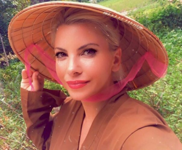 Οι τρυφερές ευχές της Αντελίνας Βαρθακούρη στον πεθερό της, Γιάννη Πάριο