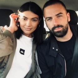 Χαλαρή έξοδος για φαγητό της Κέισι Μίζιου με τον σύντροφό της Δημήτρη