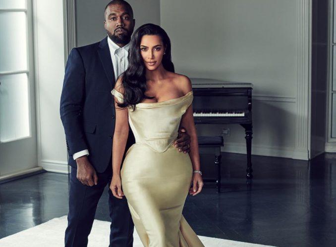 Τα δύο πορτρέτα της Kim Kardashian και η ευχή για τη Γιορτή του Πατέρα