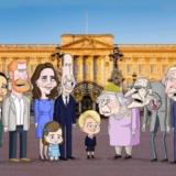 Η βρετανική βασιλική οικογένεια τώρα σε καρτούν