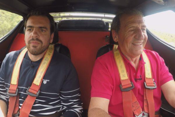 Traction: Ο Κώστας Στεφανής στο τιμόνι ενός μυθικού αυτοκινήτου