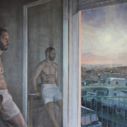 """Έκθεση ζωγραφικής Ανδρέα Μαράτου // """"Προσωπικό ημερολόγιο""""// Estudio Gallery"""