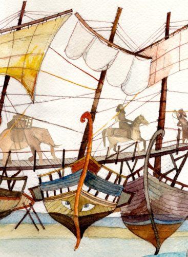 Πέρσες του Αισχύλου, για παιδιά του Κώστα Χατζηεμμανουήλ στον Ιανό
