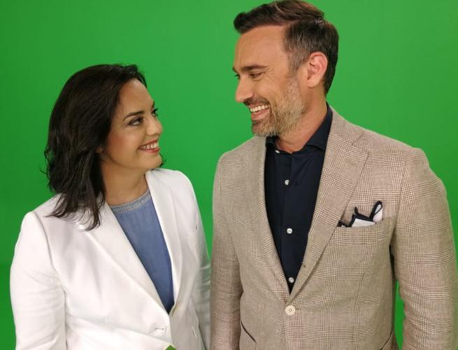 O Γιώργος Καπουτζίδης και Μαρία Κοζάκου ξανά μαζί στο σχολιασμό της Eurovision 2020