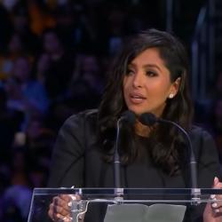 H συγκλονιστική ομιλία της Vanessa Bryant για τον Kobe και την κόρη της Gianna