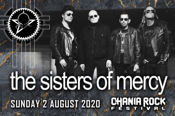 Οι θρυλικοί Sisters of Mercy, headliners στο Chania Rock Festival