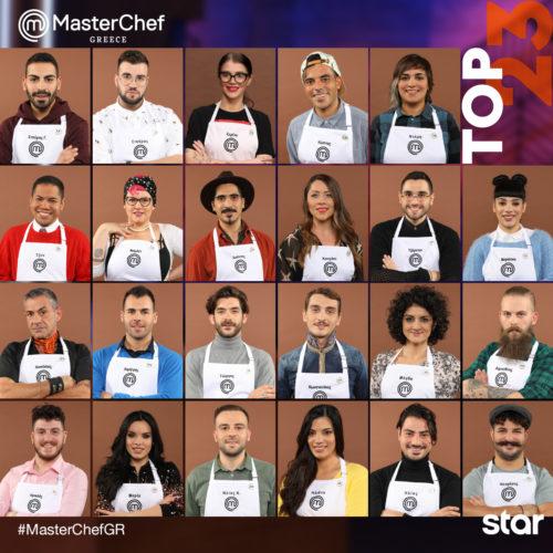MasterChef 4: Αυτοί είναι οι 23 παίκτες που μπαίνουν στο σπίτι