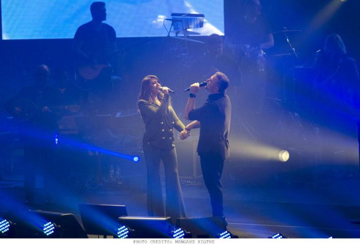 Αντώνης Ρέμος - Καίτη Γαρμπή: Το ντουέτο στη συναυλία του