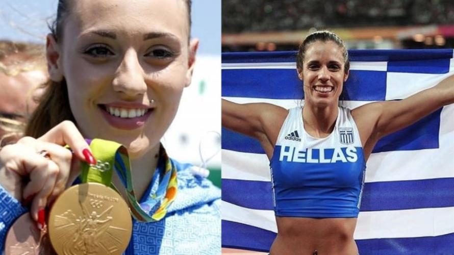 Το μήνυμα της Άννας Κορακάκη της Κατερίνας Στεφανίδη για την Ολυμπιακή Φλόγα