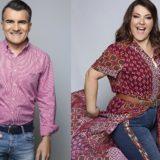 Η Κατερίνα Ζαρίφη και ο Παύλος Σταματόπουλος αποχαιρέτησαν τους τηλεθεατές του Μεσημέρι Yes