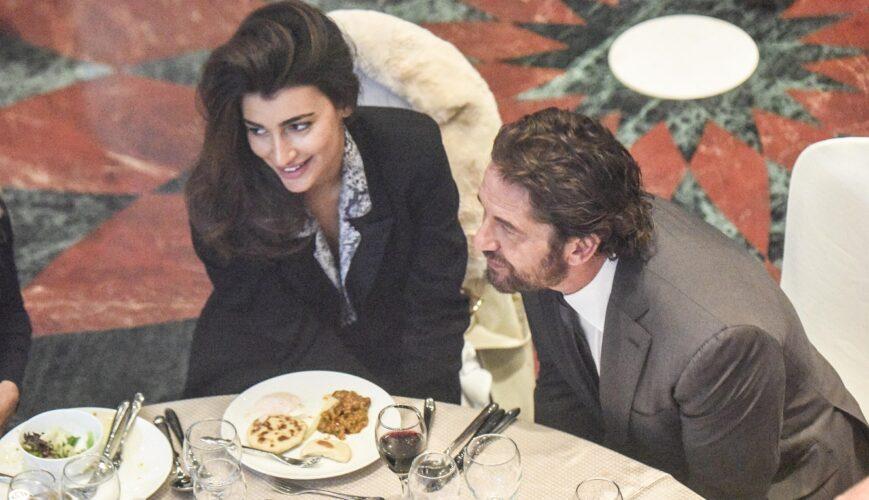 Η Σοφία Χαρμαντά απαντάει πρώτη φορά για τη σχέση της με τον Gerard Butler