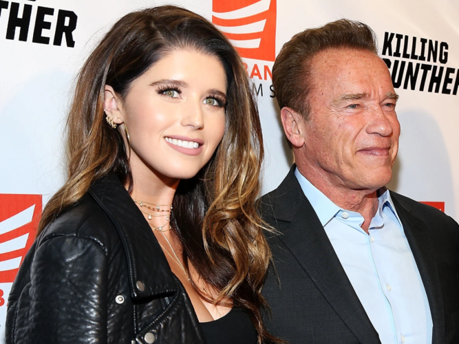 Γέννησε η κόρη του Arnold Schwarzenegger!