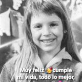 Δείτε την Florencia Bertotti σε παιδική ηλικία | Είναι αγνώριστη