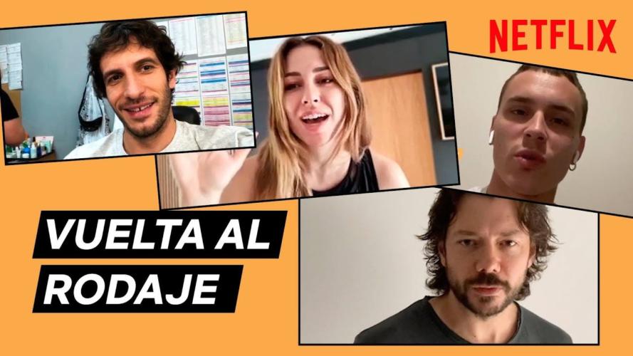 """Το Netflix συγκεντρώνει την επόμενη Ισπανική σειρά του σε ένα βίντεο για να ανακοινώσει ότι """"επιστρέφουν"""""""
