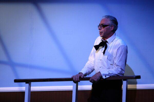 """Onassis. The play"" με τον Anthony Skordi στο θερινό θέατρο Λαμπέτη"
