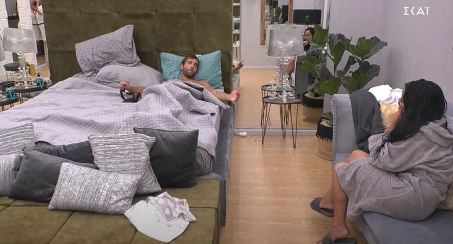 Big Brother: Ο Δημήτρης ζηλεύει αφόρητα τη σχέση του Γρηγόρη με την Σοφία
