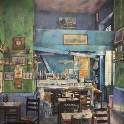 Τα καφενεία του Παύλου Σάμιου στην γκαλερί Σκουφά