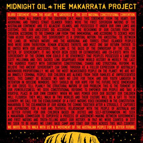 Midnight Oil   The Makarrata Project   Κυκλοφορεί
