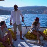My Greece: Η Δέσποινα Βανδή συνεχίζει το ταξίδι της με τον Αργύρη Αγγέλου στην πανέμορφη Κύθνο