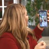 Η Κατερίνα Καινούργιου και ο Νίκος Κοκλώνης βγήκαν με Facetime στην εκπομπή της Δανάης Μπάρκα