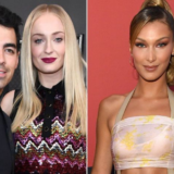 Joe Jonas, Sophie Turner και Bella Hadid αναπαριστούν τη σκηνή της Kylie Jenner από το KUWTK