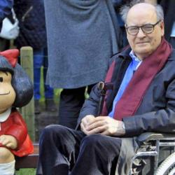 """Joaquín Salvador Lavado: Έφυγε από την ζωή ο Αργεντίνος σκιτσογράφος Κίνο και """"μπαμπάς"""" της Μαφάλντα"""