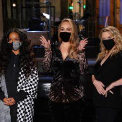 Εντυπωσιακή και αδυνατισμένη εμφάνιση της Adele στο Saturday Night Live