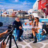 My Greece: Η Δέσποινα Βανδή ταξιδεύει μαζί με τον Μάκη Τσέλιο στην πανέμορφη Μύκονο