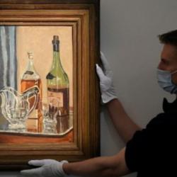 Πίνακας του Τσόρτσιλ πωλήθηκε πάνω από 1 εκατ. ευρώ