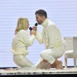 Η εντυπωσιακή εμφάνιση της Νατάσας Καλογρίδη και του Νικόλα Ραπτάκη στο J2US και η on air συγκίνηση