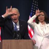 Το Saturday Night Live γιορτάζει τη νίκη Biden