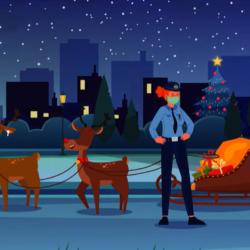 Το εορταστικό βίντεο της ΕΛΑΣ που έκαναν έλεγχο και στον Αϊ-Βασίλη