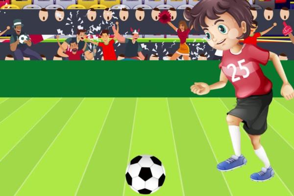 """Ο Κωνσταντίνος Χριστοφόρου σε ρόλο """"ποδοσφαιριστή"""" για τα παιδιά"""