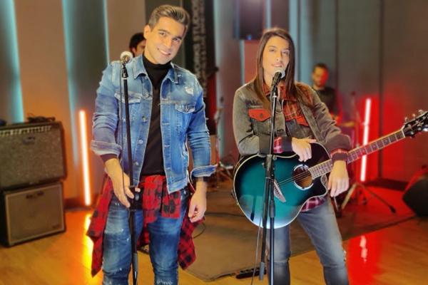 Τζένη Γεωργιάδη: Το ντουέτο της με τον Βασίλη Δήμα σημειώνει μεγάλη επιτυχία στo επίσημο airplay chart και στο Youtube