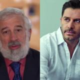 Ο Πέτρος Φιλιππίδης και ο Αλέξανδρος Μπουρδούμης σε λεκτικό επεισόδιο