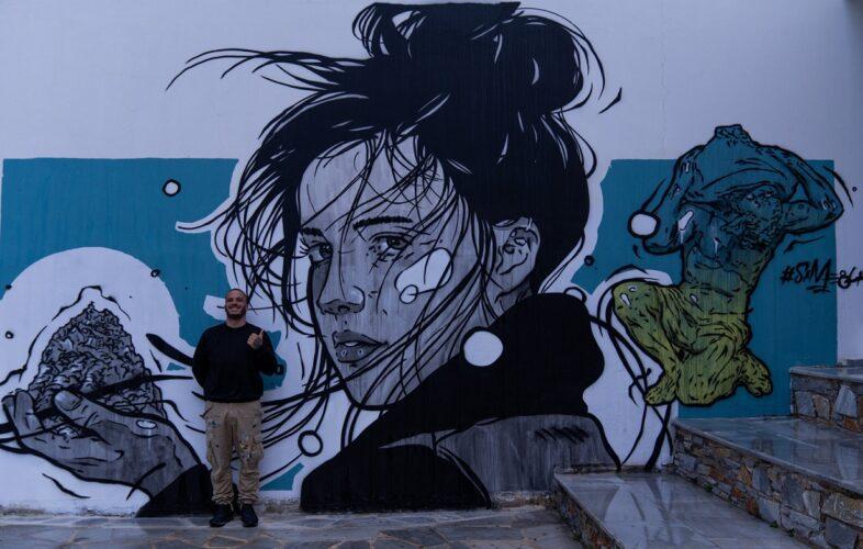 Η Τέχνη του Δρόμου της ΕΡΤ3 στην Τήνο