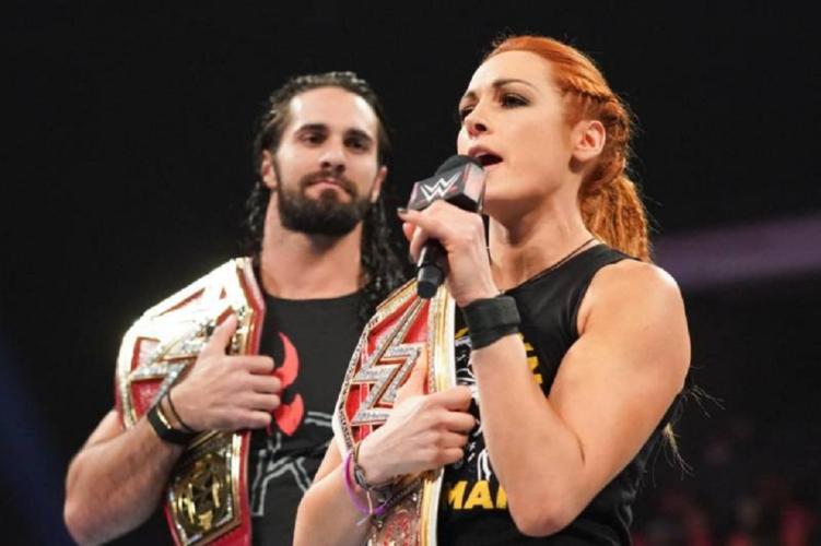 Τα αστέρια του WWE, Becky Lynch και Seth Rollins έγιναν γονείς για πρώτη φορά!