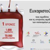 Όλοι Μαζί Μπορούμε   1 Χρόνος Εθελοντικές Αιμοδοσίες