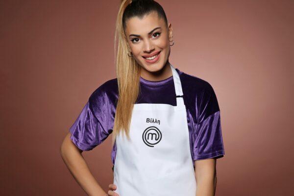 Η Βίλλυ Σεργή είναι η παίκτρια που αποχώρησε από το Masterchef