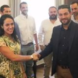 Δόμνα Μιχαηλίδου - Παναγιώτης Σημανδηράκης: Η σχέση, γνωριμία και η απόσταση του ζευγαριού