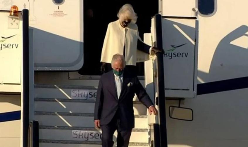 Έφτασαν στην Αθήνα ο Πρίγκιπας Κάρολος και η Καμίλα