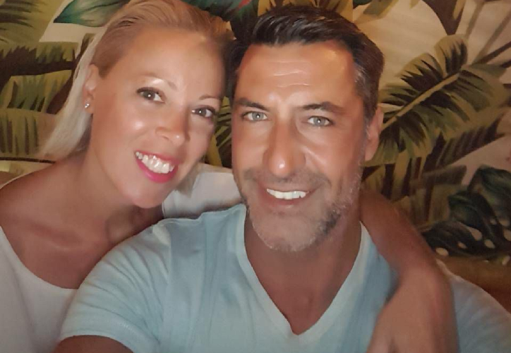 Η νέα φωτογραφία του Κωνσταντίνου Αγγελίδη ένα μήνα μετά το κρίσιμο χειρουργείο και το μήνυμα της συζύγου του